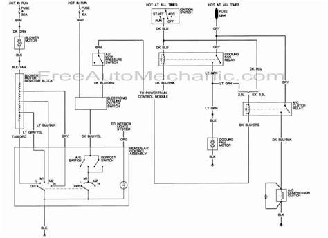 Air Conditioning Wiring Diagram For Dodge Dakota