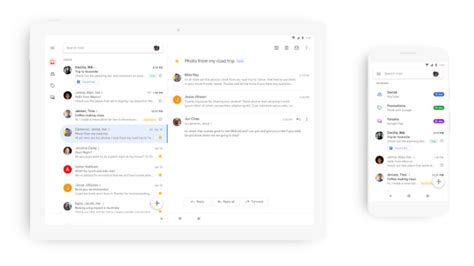Mobile Gmail Chat by Is Pushing Out A Design Overhaul For Gmail On Mobile