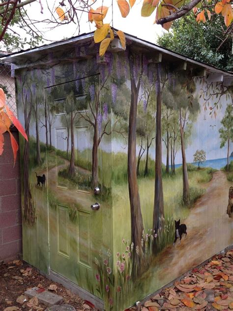 garden murals for outdoors 294 best images about outdoor garden murals on pinterest outdoor fence painting and painted