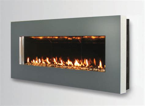 contemporary wall mount fireplace slim  spark modern