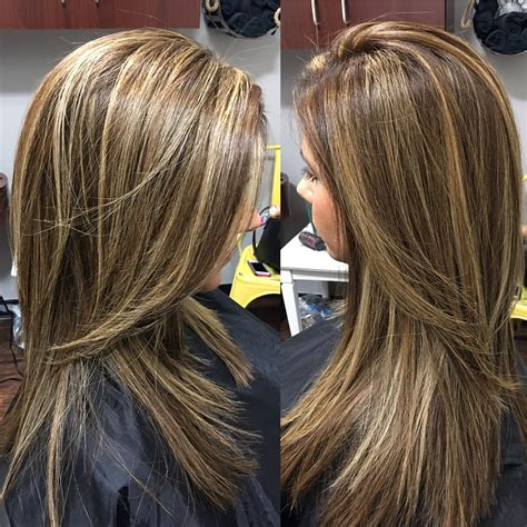 With Highlights by This Color Partial Foil Highlights And Lowlights