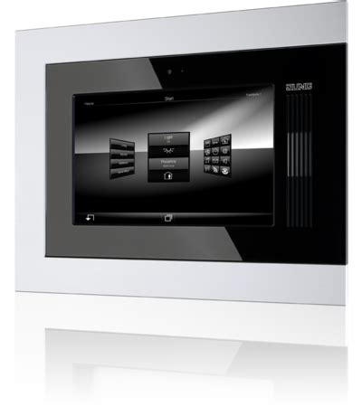 jung knx smart panel display devices technology