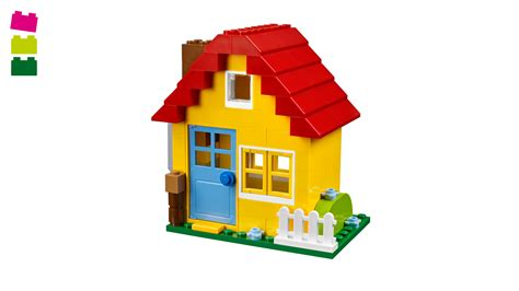 build house yellow house lego