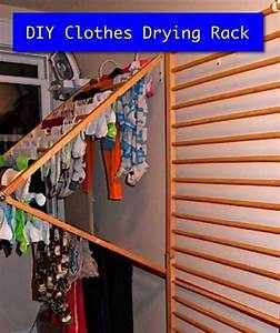 How To Make An Indoor Clothes Drying Rack Homestead