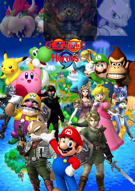 Nintendo Heroes By Supersaiyancrash On Deviantart