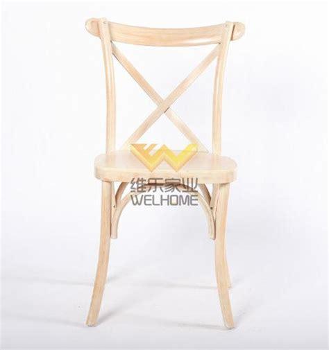 limewash solid wood vineyard cross back chair for wedding