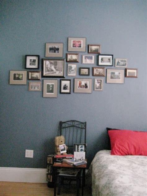 desain hiasan dinding kamar tidur kreatif sederhana