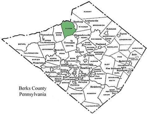 Sinking Borough Berks County Pa by Tilden Township Berks County Pennsylvania
