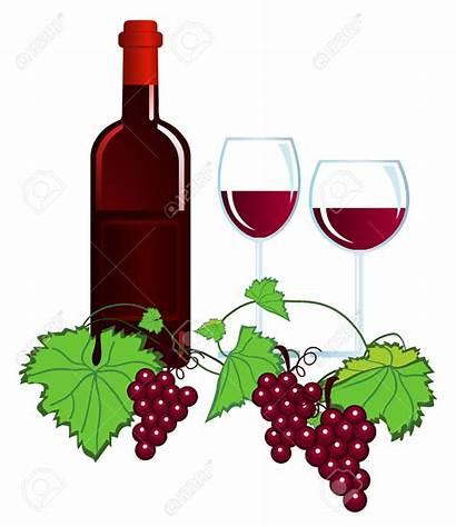 Wine Clipart Vineyard Wein Cliparts Clip Vin