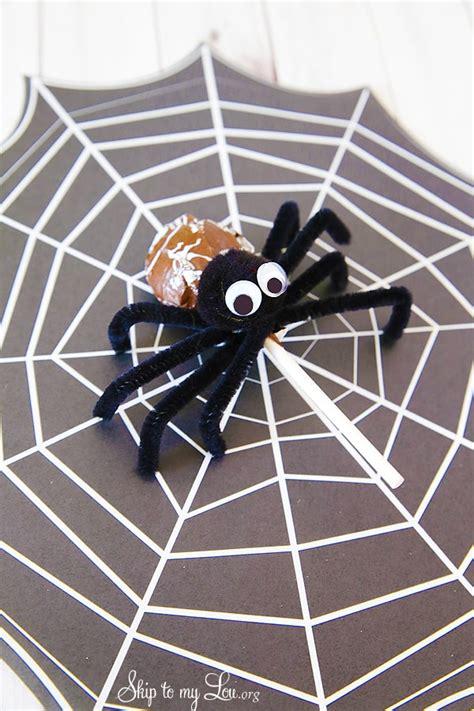 tootsie pop spiders skip   lou