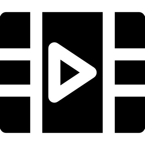 video player  multimedia icons