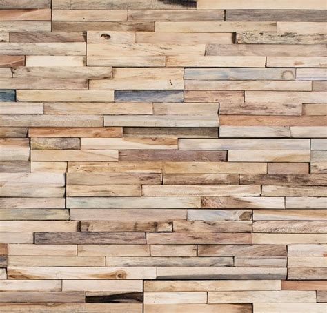 Einfach Verblender Wohnzimmer Wandverkleidung Holz Hell Schlicht Bs Holzdesign