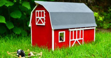 diy toy wooden barn adventure   box