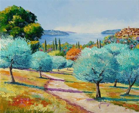Famous Landscape Oil Paintings Arts On Canvas