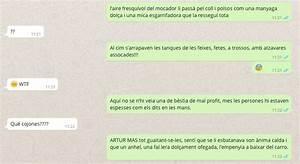 Kontodaten Per Whatsapp : whatsapp cifra sus mensajes traduci ndolos al catal n el mundo today ~ Orissabook.com Haus und Dekorationen
