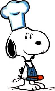 Snoopy Cooking Clip Art Free