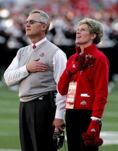 ellen tressel discusses  husband ohio state football coach jim tressel   life