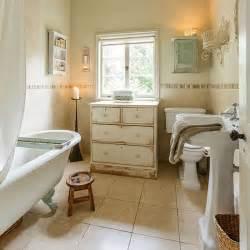 badezimmer shabby chic neutral shabby chic bathroom with chest of drawers housetohome co uk