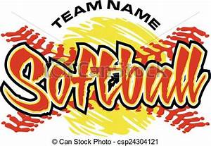 Slow Pitch Softball Clipart (64+)
