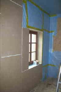 gipskartonplatten verlegen decke dachgeschoss selber ausbauen gipskarton