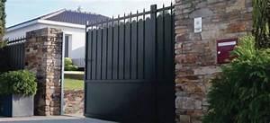 Portail En Fer Lapeyre : fixation portail fer ~ Premium-room.com Idées de Décoration