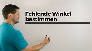 Fehlende Winkel Berechnen : fehlende winkel bestimmen beispiel nebenwinkel ~ Themetempest.com Abrechnung