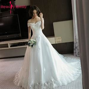 Beauty emily luxury lace tiered white wedding dresses 2017 for Aliexpress wedding dresses 2017