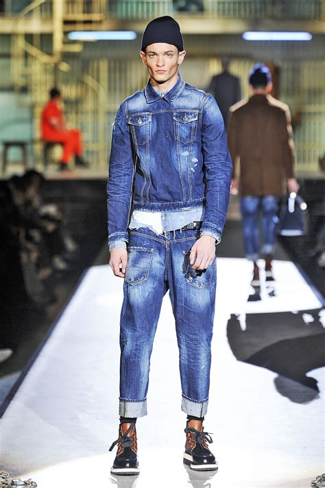 dsquared fall winter  mens collection  skinny beep