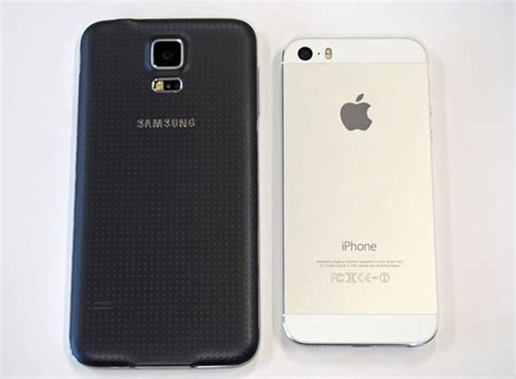 iphone 5s vs galaxy s5 galaxy s5 vs iphone 5s how do they compare
