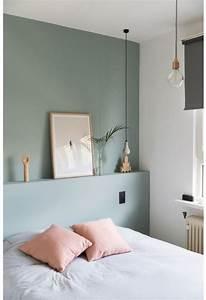 Un Mur Vert D39eau Pour Une Chambre Colore Et Lumineuse