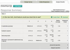 sle online survey tools review oneshare With survey monkey template