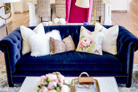 living room reveal pink peonies by rach parcell