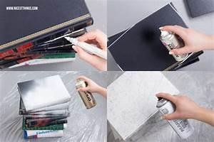 Tisch Aus Büchern : tisch aus b chern diy b chertisch selber machen mit marmor effekt upcycling spray painting ~ Buech-reservation.com Haus und Dekorationen