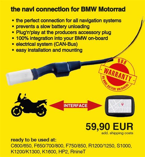 Sitemap  The Navi Interface For Bmw Motocycles