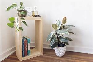 How, To, Make, A, Diy, Side, Table