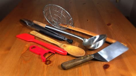 important utensils   kitchen