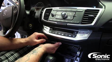 remove factory stereo  honda accord youtube