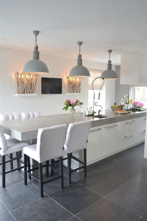 modern kitchen island with seating kitchen contemporary kitchen with a island Modern Kitchen Island With Seating