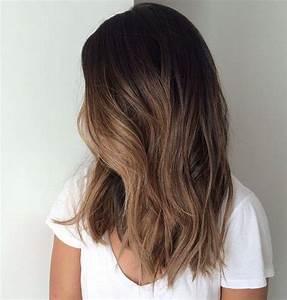 Ombré Hair Chatain : balayage behandeling bobline ~ Nature-et-papiers.com Idées de Décoration
