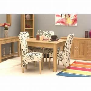 Mobel Oak 4 Seat Dining Table