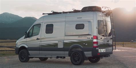 Winnebago's Mercedes-benz Revel 4x4 Camper Van Is Built