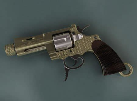 worlds smallest gun  real  bejeweled