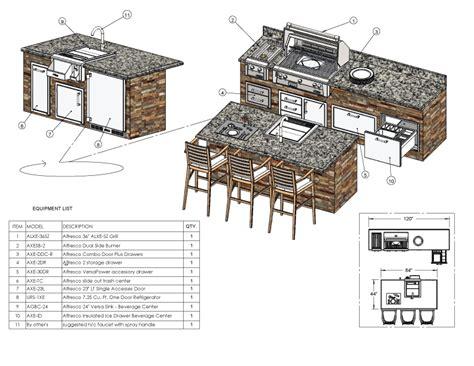kitchen islands tables design services alfresco grills