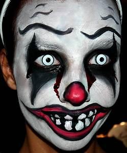 Déguisement Halloween Qui Fait Peur : id es maquillage d guisement clown tueur m chant solution ~ Dallasstarsshop.com Idées de Décoration