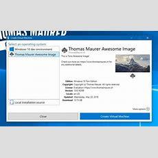 How To Create A Custom Hyperv Quick Create Vm Gallery  Thomas Maurer