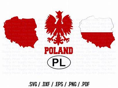 Polish Svg Poland Clipart Eagle Silhouette Polska