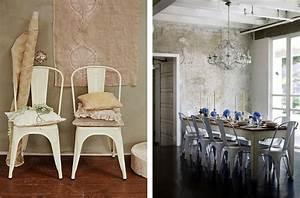 Salle A Manger Chic : la mythique chaise a de tolix joli place ~ Nature-et-papiers.com Idées de Décoration