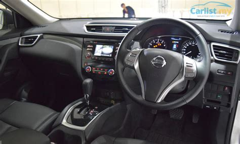 interior design x trail all new 2015 nissan x trail launched in malaysia from