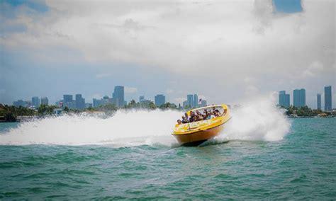 Jet Boat Miami by Jet Boat Tour Jet Boat Miami Groupon