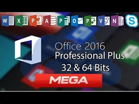 microsoft office professional plus 2016 32 64 descargar office 2016 con activador para 32 64bits ac Descargar